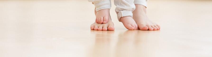 無垢床のイメージ写真