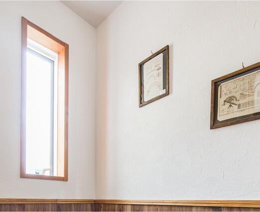 漆喰壁のイメージ写真